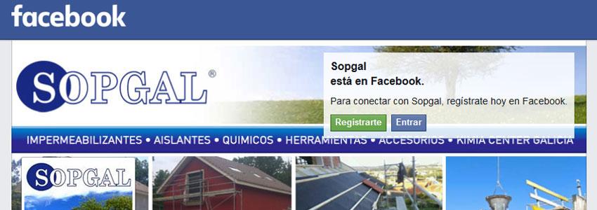 Sopgal ya está en las redes sociales