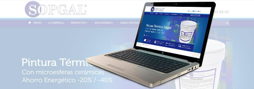 Nueva web de Sopgal inauguracion
