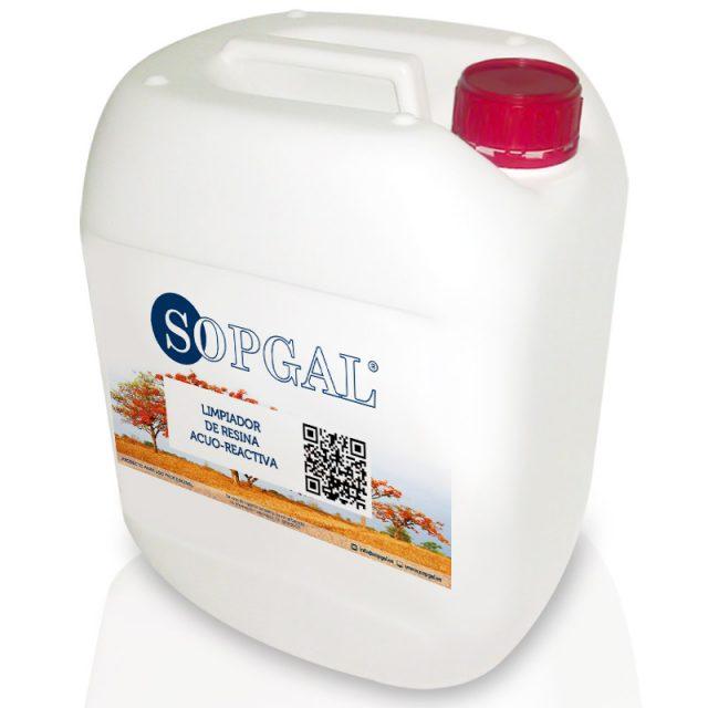 Limpiador Resina Acua-Reactiva