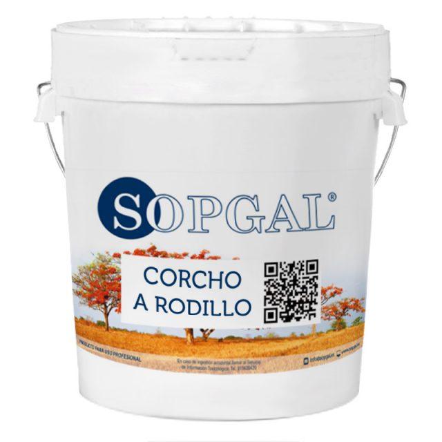 Pintura de Corcho natural Sopgal para aplicar a rodillo