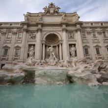 Restauración con Kimia de la Fontana di Trevi en Roma