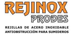 Rejinox Prodes Rejillas de acero inoxidable antiobstrucción