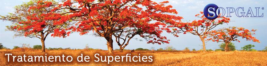 Tratamiento de Superficies productos sopgal